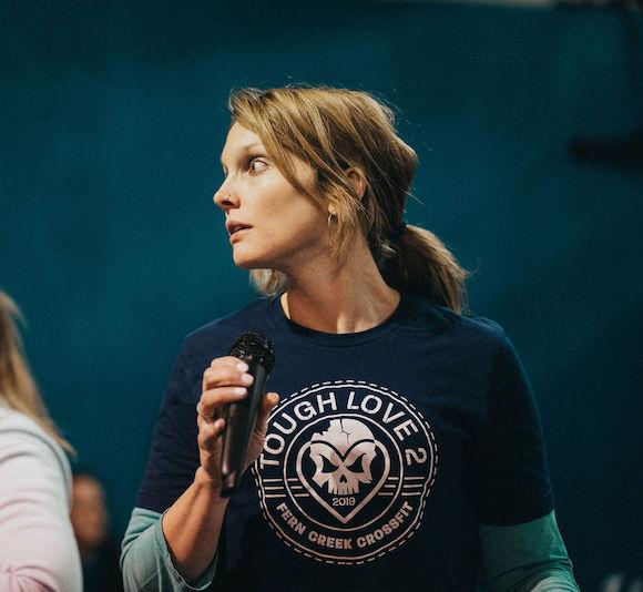 CrossFit coach - Megan McNamara