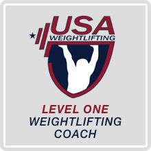 USAW Level 1 Weightlifting Coach